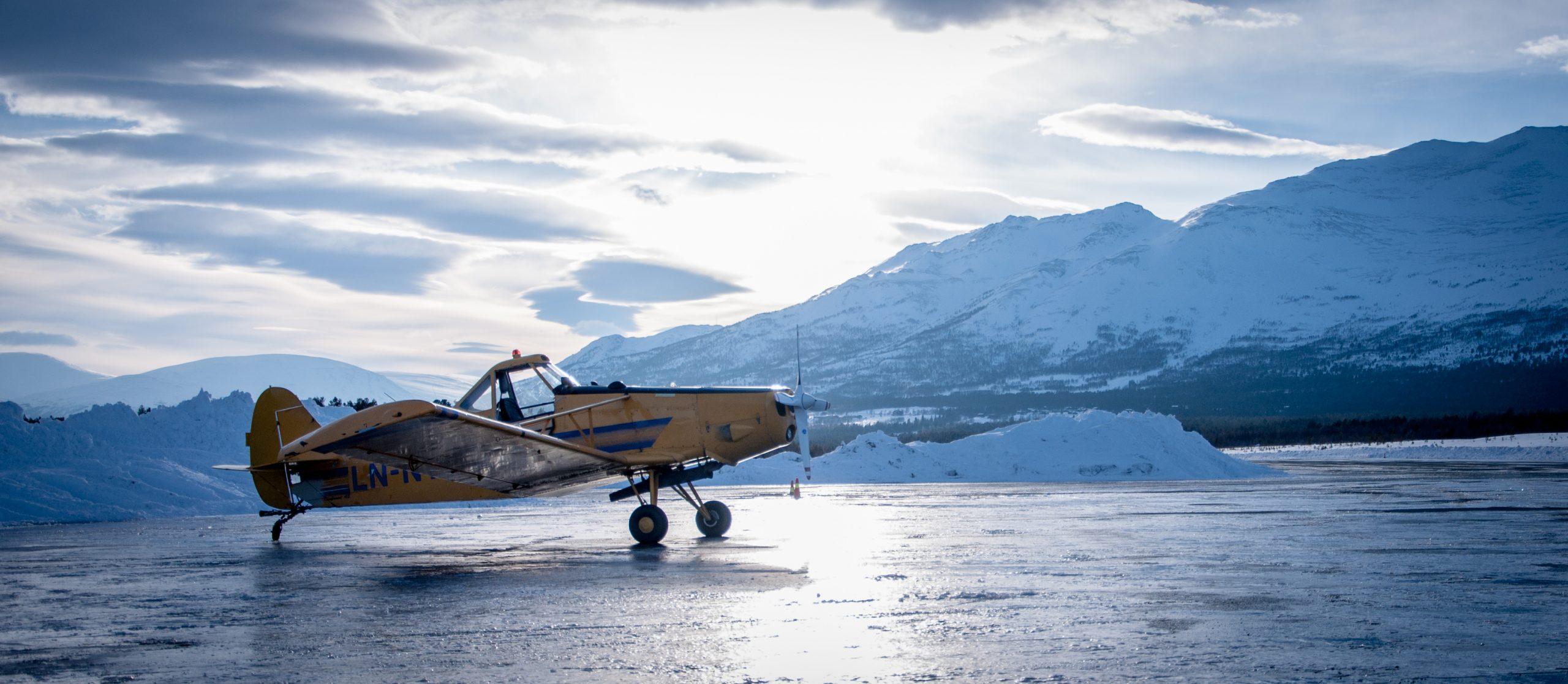 Fly på Oppdal flyplass