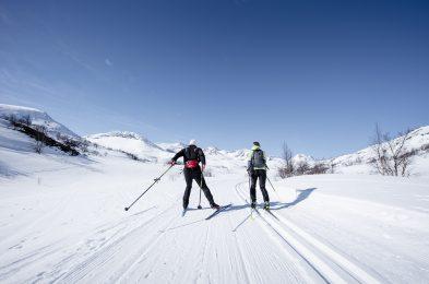 Snøsikre Storlidalen gir tidlig gode treningsforhold. Foto: Martin I. Dalen