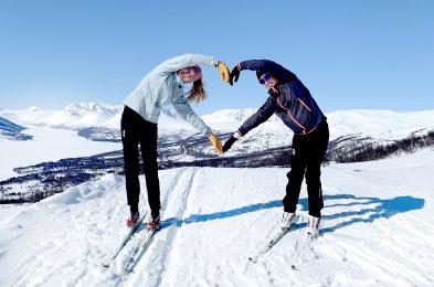 Fra Grøtsetra kan du gå opp Solløypa. Foto: Kristin Riise