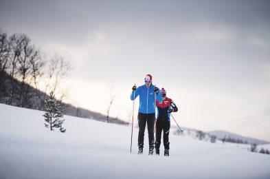 Skaret er et snøsikkert sted i Oppdal med lang sesong. Foto: Martin I. Dalen
