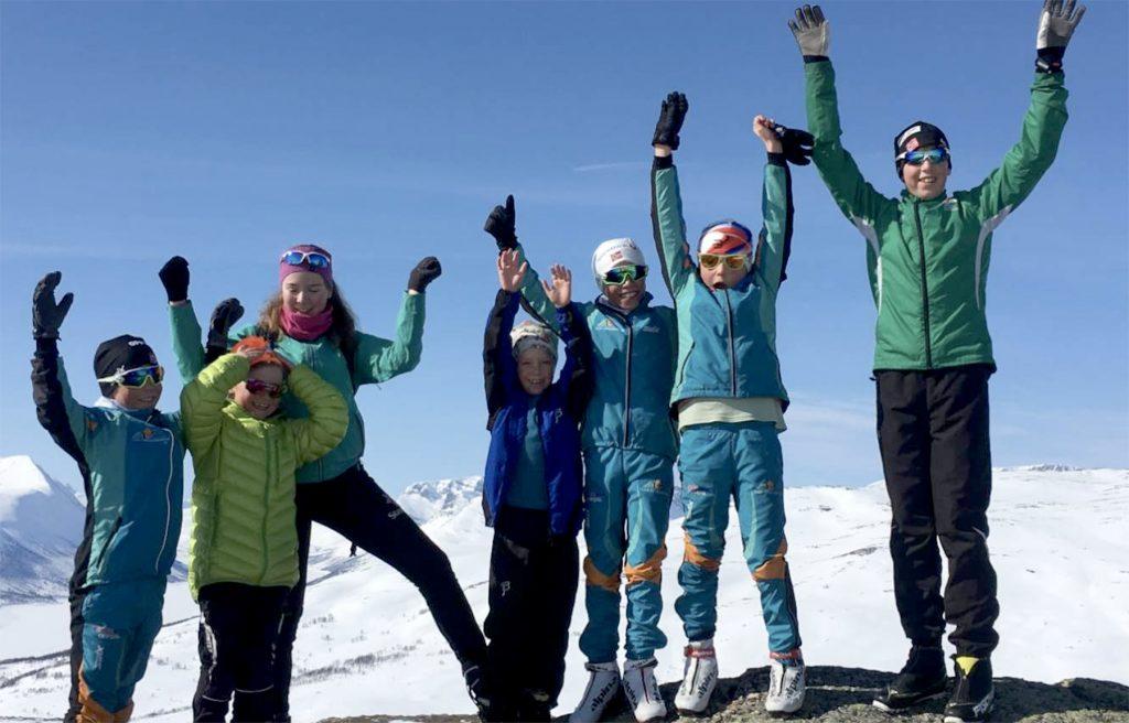 Barnas vinter i Oppdal