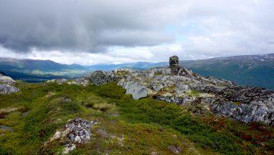 God utsikt fra toppen av Håggåberget. Foto: Oddveig Torve.