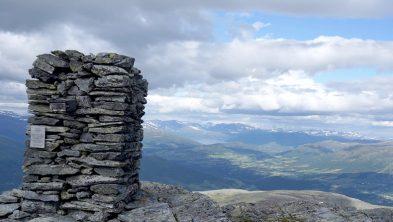 Varden på Sissihøa er den første i Norge som ble fredet. Foto: Oddveig Torve