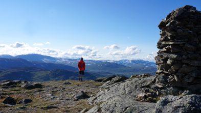 Fra toppen av Storgruvpiken. Foto: Oddveig Torve