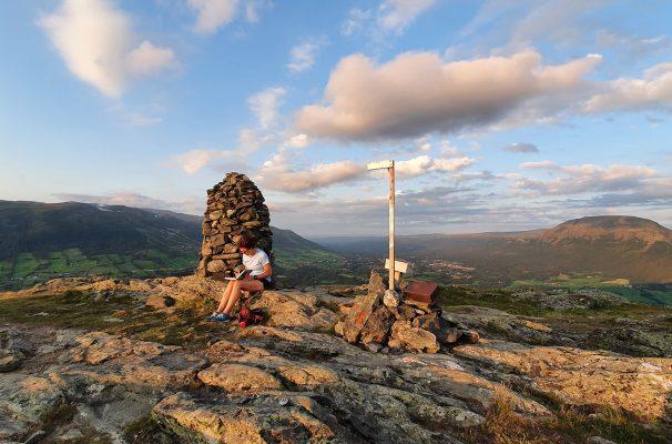 Toppen på Svarthaugen